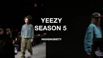 Yeezy Season 5