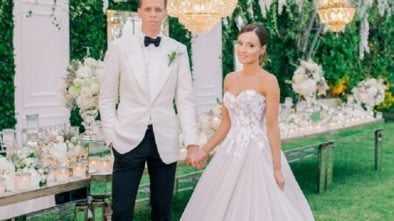 Marina i Wojciech Szczęśni obchodzą kolejną rocznicę ślubu