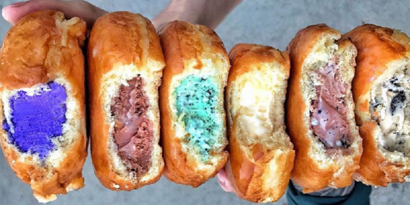 Ice-cream Donuts