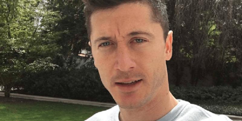 Robert Lewandowski zmienił kolor włosów