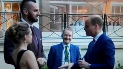 Alicja Bachleda-Curuś i Marcin Gortat o spotkaniu z księciem Williamem