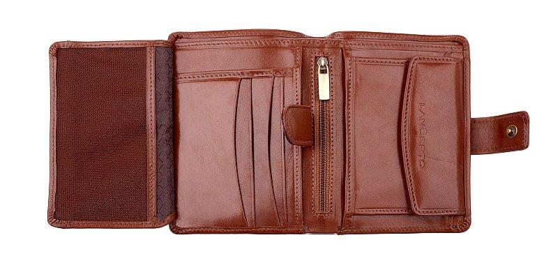 portfel brązowy