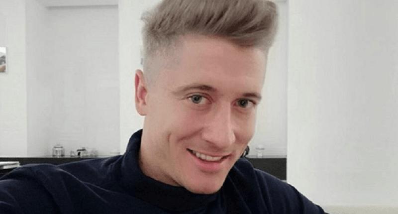 Robert Lewandowski już nie jest blondynem