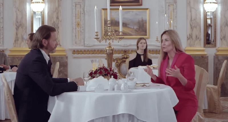 Małgorzata Rozenek i Radosław Majdan kłócą się w restauracji