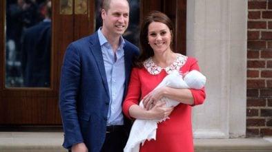 Jak ma na imię synek Kate i Williama?