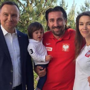 Andrzej Duda zaprosił piłkarzy do swojej rezydencji