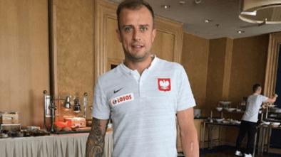 """Kamil Grosicki nie słucha już """"Przez twe oczy zielone"""""""