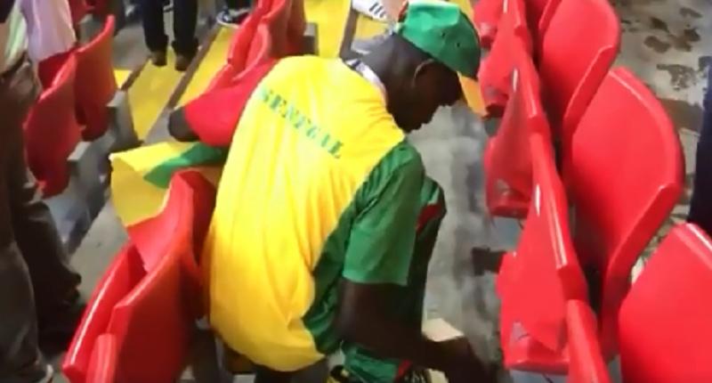 Co zrobili kibice Senegalu po wygranym meczu?