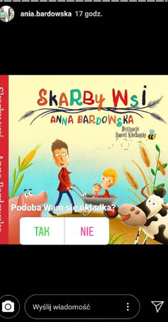 Anna Bardowska pokazała okładkę swojej książki!